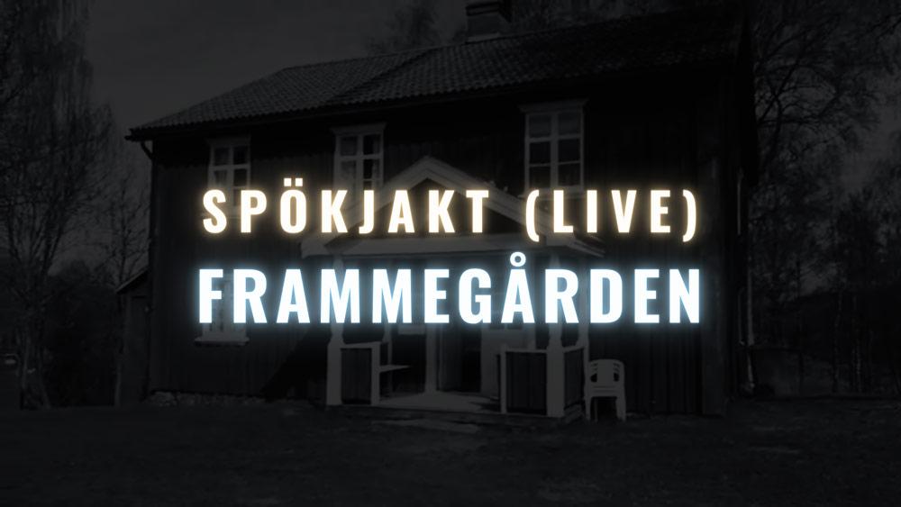 Frammegården Skillingmark Värmland Spökhus Spökjakt