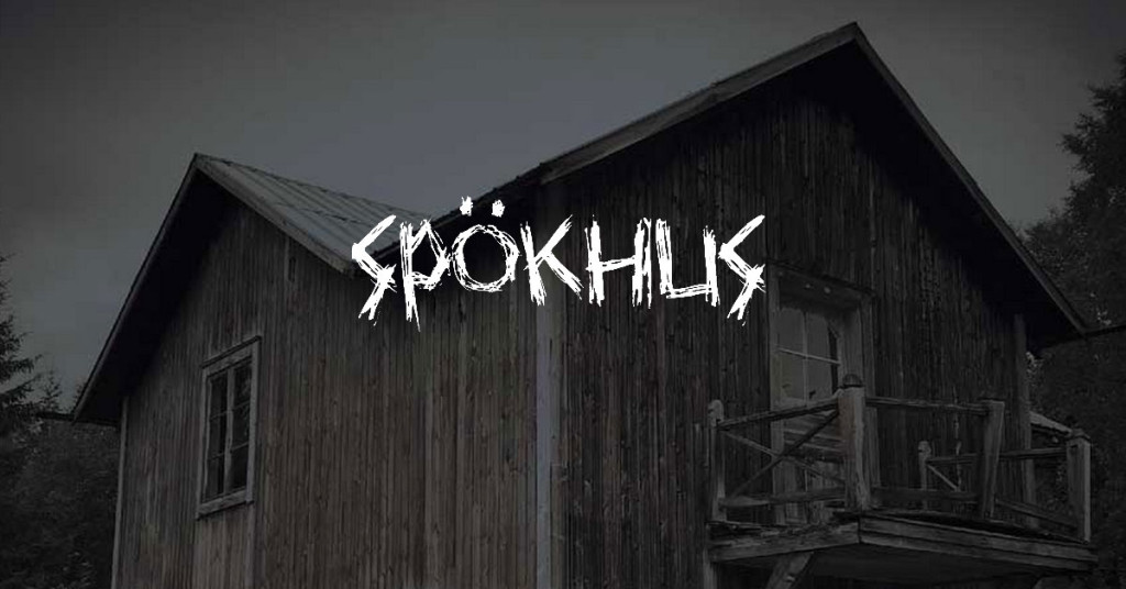 Spökhus och spökplatser i Sverige